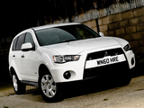 Mitsubishi Outlander Van UK-spec 2010 images