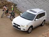 Mitsubishi Outlander ZA-spec 2010–12 pictures