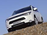 Mitsubishi Outlander UK-spec 2013 pictures
