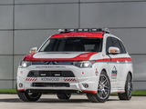Mitsubishi Outlander GT Pikes Peak Safety Car 2013 wallpapers