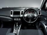 Photos of Mitsubishi Outlander JP-spec 2005–12