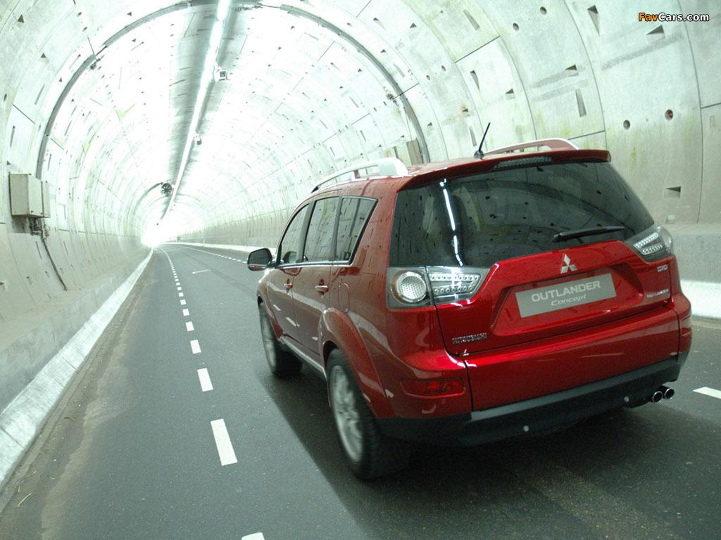 Photos of Mitsubishi Outlander Concept 2006 (1024 x 768)