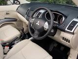 Photos of Mitsubishi Outlander UK-spec 2007–09