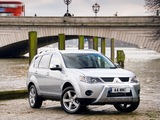 Photos of Mitsubishi Outlander Warrior 2007–09