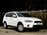Photos of Mitsubishi Outlander Van UK-spec 2010
