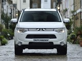 Photos of Mitsubishi Outlander UK-spec 2013