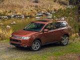 Photos of Mitsubishi Outlander US-spec 2013