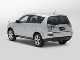 Pictures of Mitsubishi Outlander JP-spec 2005–12