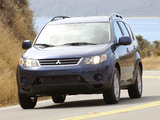 Pictures of Mitsubishi Outlander US-spec 2007–09