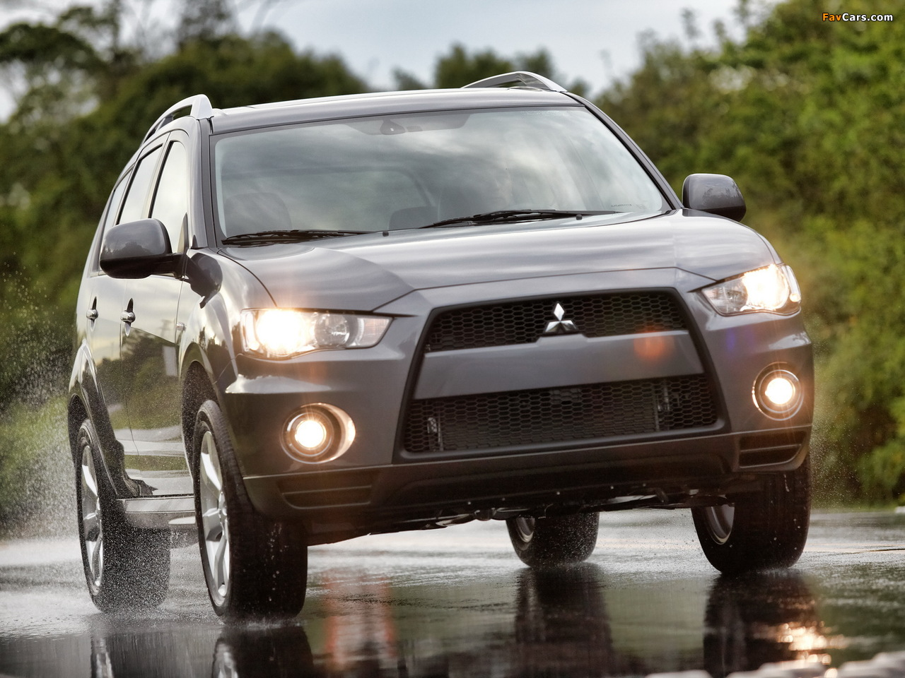 Pictures of Mitsubishi Outlander US-spec 2009 (1280 x 960)