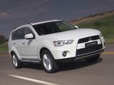Pictures of Mitsubishi Outlander ZA-spec 2010–12