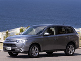 Pictures of Mitsubishi Outlander AU-spec 2012