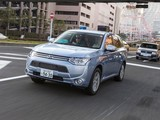 Pictures of Mitsubishi Outlander PHEV JP-spec 2012