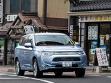 Pictures of Mitsubishi Outlander PHEV JP-spec 2012