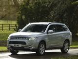 Pictures of Mitsubishi Outlander UK-spec 2013