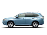 Mitsubishi Outlander PHEV JP-spec 2012 wallpapers