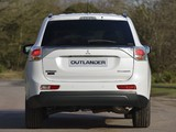 Mitsubishi Outlander UK-spec 2013 wallpapers