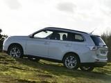 Mitsubishi Outlander UK-spec 2013 wallpapers