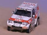 Mitsubishi Pajero Evolution Dakar (V55W) 1999 wallpapers