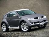 Mitsubishi Pajero/Montero Evolution Concept 2002 wallpapers