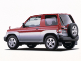 Mitsubishi Pajero iO 3-door 1998–2000 photos