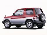 Mitsubishi Pajero iO 3-door 1998–2000 photos