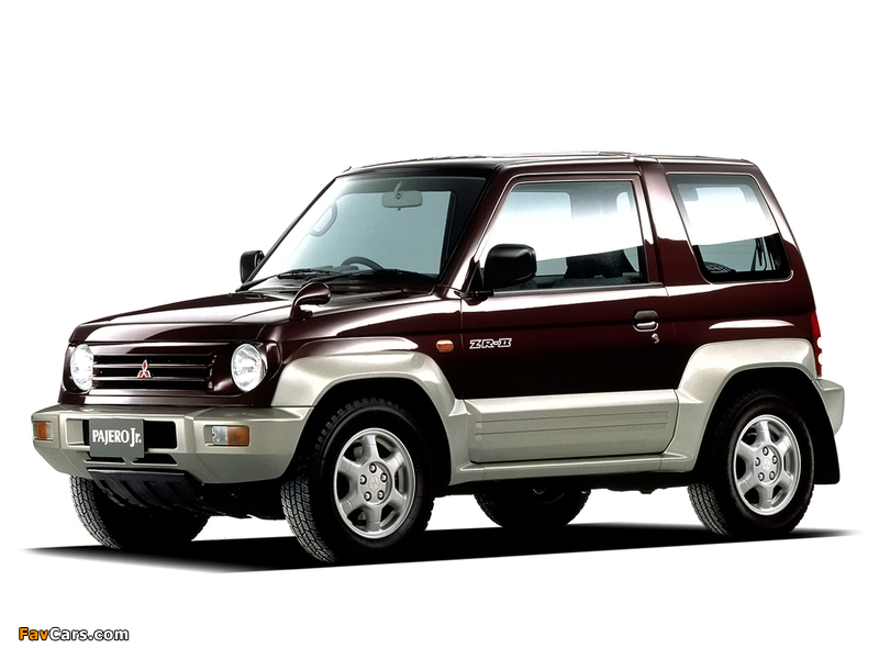 Images of Mitsubishi Pajero Jr. ZR-II (H57A) 1995–98 (800 x 600)