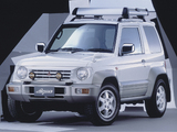 Mitsubishi Pajero Jr. Lynx (H57A) 1997–98 pictures