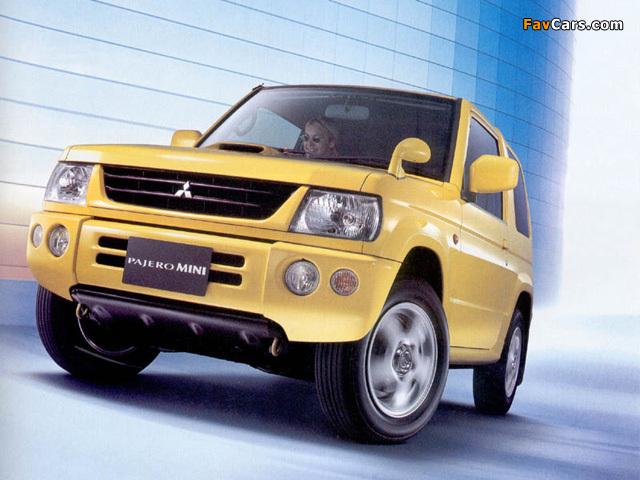 Mitsubishi Pajero Mini (H53) 1998–2005 photos (640 x 480)