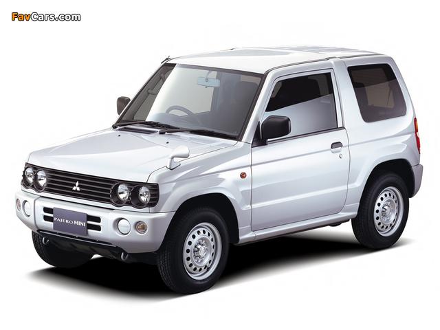 Photos of Mitsubishi Pajero Mini (H53) 1998–2005 (640 x 480)