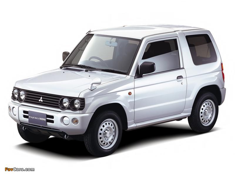 Photos of Mitsubishi Pajero Mini (H53) 1998–2005 (800 x 600)