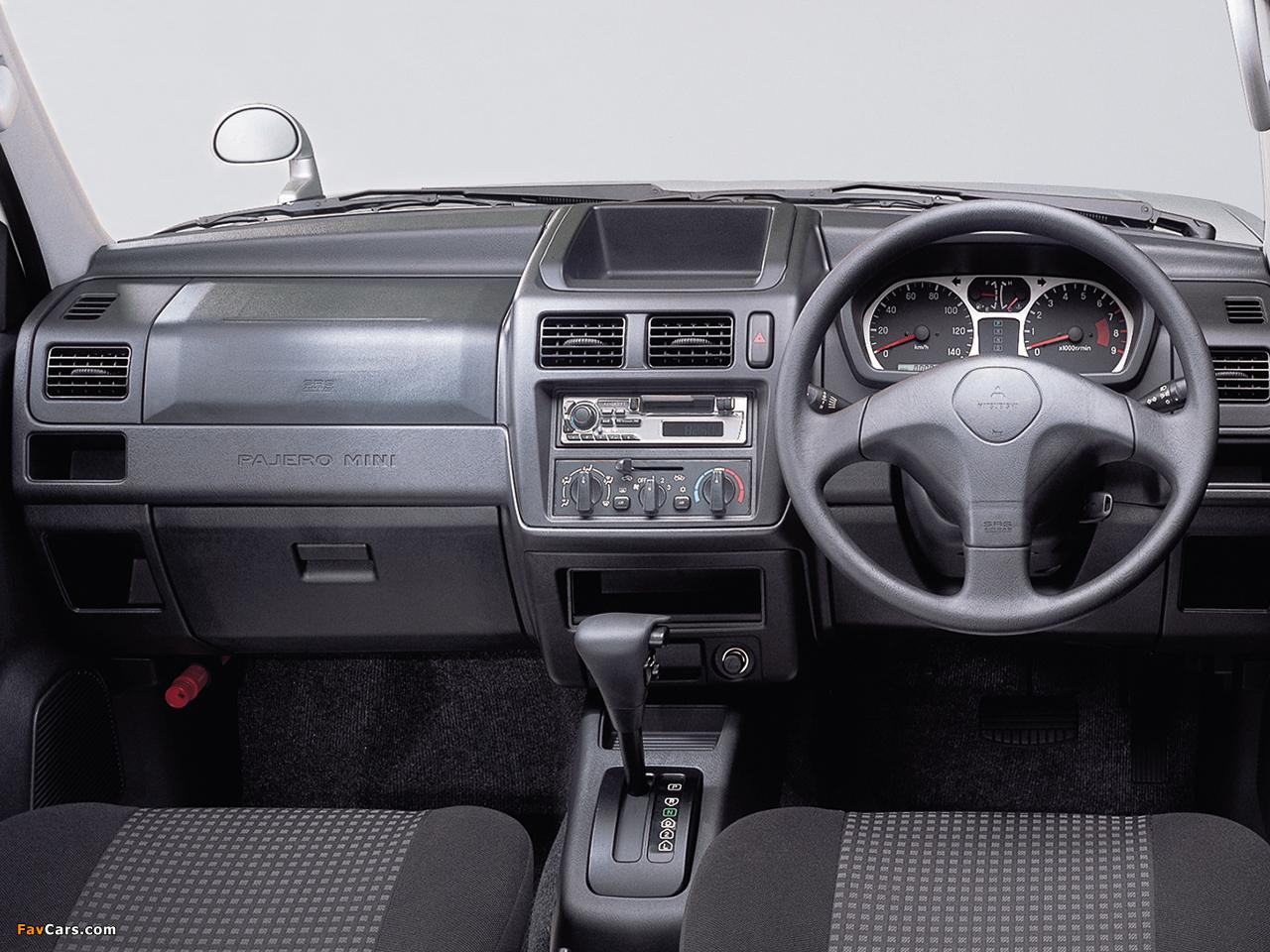 Mitsubishi Pajero Mini (H53) 1998–2005 wallpapers (1280 x 960)