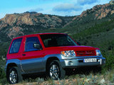 Images of Mitsubishi Pajero Pinin 3-door 1998–2005