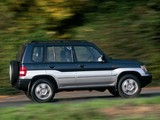 Photos of Mitsubishi Pajero Pinin 5-door 1998–2005