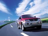 Mitsubishi Pajero Sport 1999–2005 photos