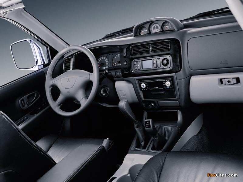 Mitsubishi Pajero Sport 2005–08 photos (800 x 600)