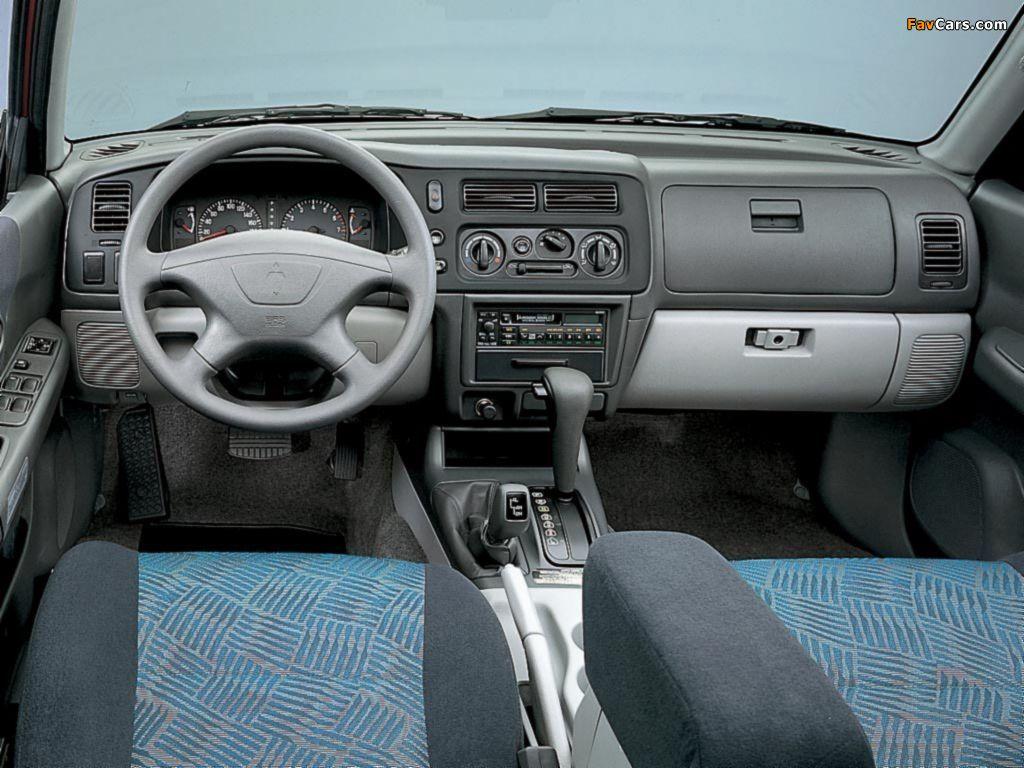 Mitsubishi Pajero Sport 1999 2005 Pictures 1024x768