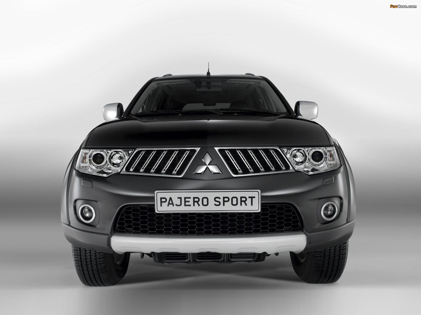 Photos of Mitsubishi Pajero Sport 2008 (1600 x 1200)