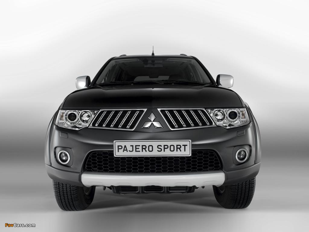 Photos of Mitsubishi Pajero Sport 2008 (1024 x 768)