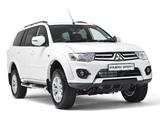 Photos of Mitsubishi Pajero Sport ZA-spec 2013