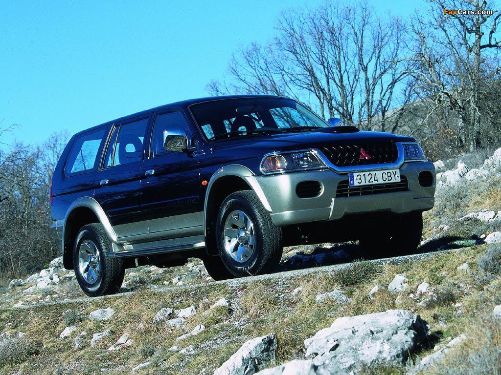 Pictures of Mitsubishi Pajero Sport 1999–2005 (1024 x 768)
