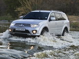 Mitsubishi Pajero Sport ZA-spec 2013 wallpapers