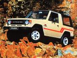 Images of Mitsubishi Pajero Canvas Top (I) 1982–91