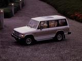 Images of Mitsubishi Pajero Wagon (I) 1983–91