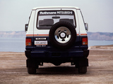 Images of Mitsubishi Pajero Rothmans Special (I) 1987