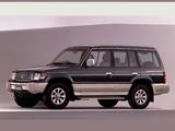 Images of Mitsubishi Pajero Wagon JP-spec (II) 1991–97