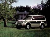 Mitsubishi Pajero Wagon JP-spec (II) 1991–97 images