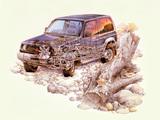Mitsubishi Pajero Metal Top (II) 1991–99 wallpapers