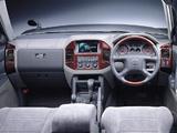 Mitsubishi Pajero LongExceed JP-spec 1999–2002 pictures