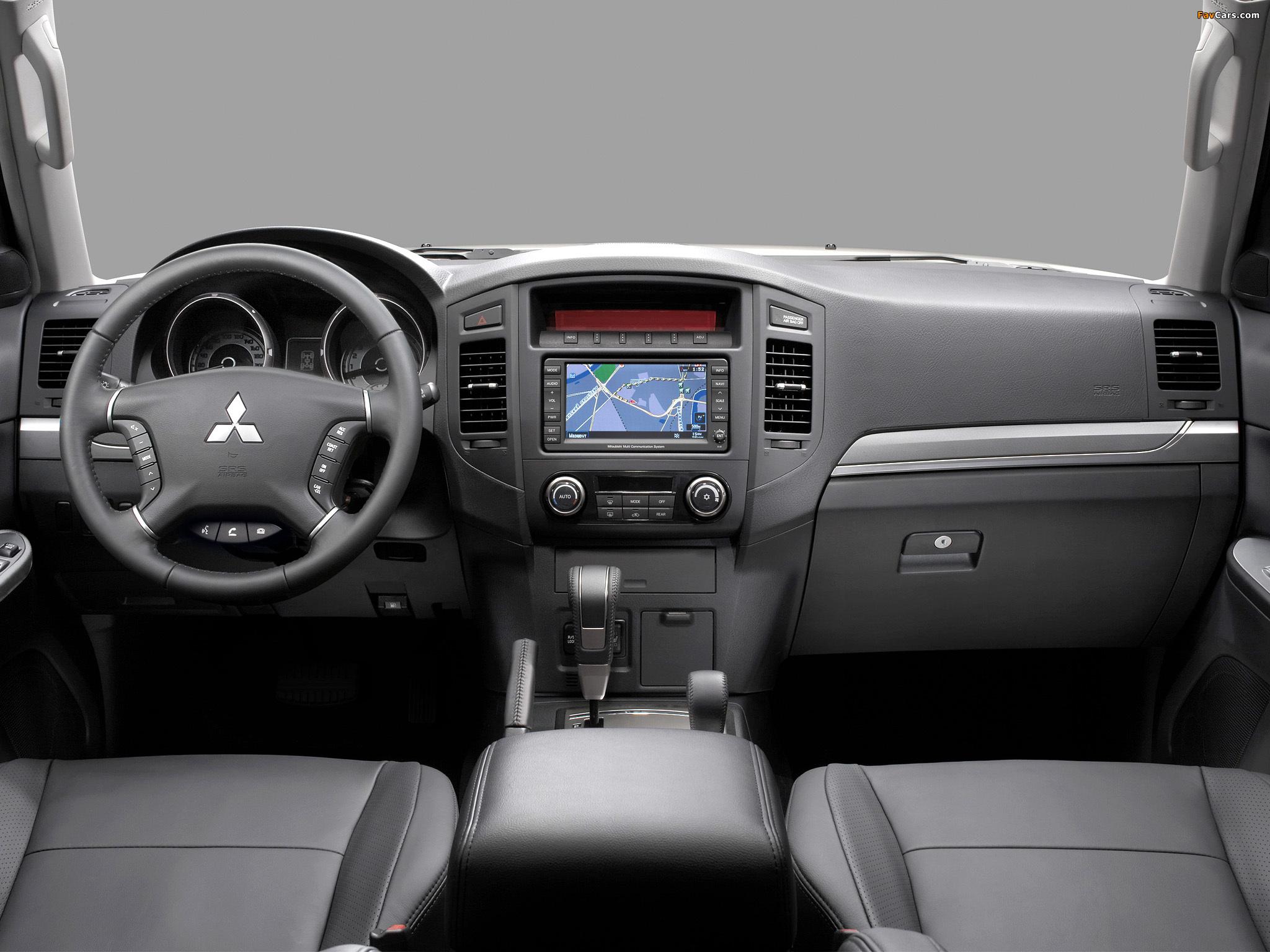 Mitsubishi Pajero 5-door 2011 photos (2048 x 1536)